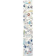 Achat Sticker Lé de papier peint Blue Savannah - Achille & Ulysse