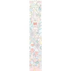 Achat Sticker Lé de papier peint Le monde de Yoko - Yoko