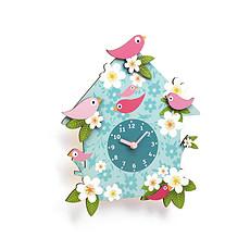 Achat Réveil  Horloge Coucou Charlotte - Jade