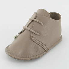 Achat Outlet Chaussons à lacet DAO 0-3 mois - taupe