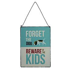 """Achat Plaque de porte Plaque de Porte """"Beware of the Kids"""""""