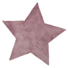 Achat Tapis Tapis étoile fausse fourrure (140 x 140 cm)