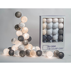 Achat Suspension  décorative Guirlande Lumineuse BROOKLYN - 20 boules