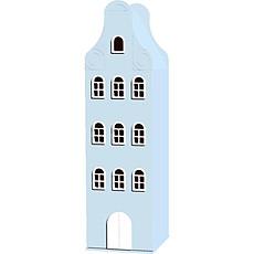 Achat Armoire Armoire Amsterdam classique bleu 180 / 50 / 50