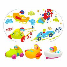 Achat Mes premiers jouets Vroom - Tapis de Bain + 3 aspergeurs