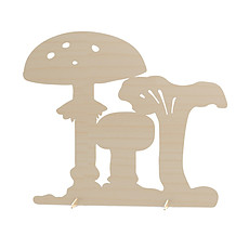 Achat Plaque de porte Séparateur de chambre champignon