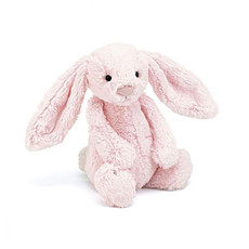 Achat Peluche Bashful Bunny Rose Medium - Peluche Lapin Rose 31 cm
