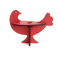 Achat Objet décoration Chandelier Oiseau - Orange