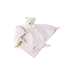Achat Doudou Doudou Ours vichy rose