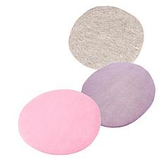 Achat Tapis Set de 3 tapis galet 100% feutre