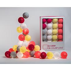 Achat Suspension  décorative Guirlande Lumineuse Queen Charlotte - 20 boules