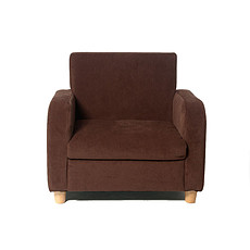 Achat Fauteuil Fauteuil sofa fabric - marron