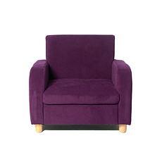 Achat Fauteuil Fauteuil sofa fabric - violet