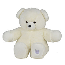 Achat Peluche Peluche Ours Collection Blanc 80 cm