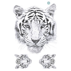 Achat Sticker Stickers Tigre - Large