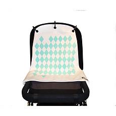 Achat Ombrelle et protection Rideau de Poussette Baby Peace - Harlequin Turquoise