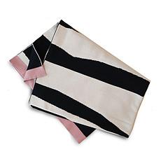 Achat Linge de lit Couverture en Coton Tricot Zebra Sunshine