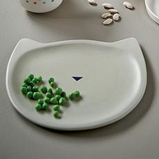 Achat Vaisselle & Couvert Petit Plat Chat en Porcelaine Gris