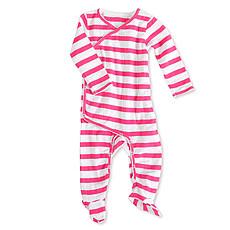 "Achat Pyjama Combinaison Kimono Manches Longues ""Pink Blazer Stripe"""