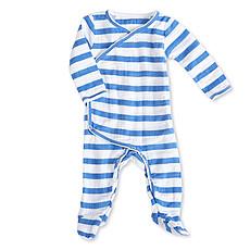 "Achat Pyjama Combinaison Kimono Manches Longues ""Ultramarine Blazer Stripe"""