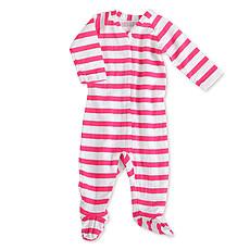 "Achat Pyjama Combinaison Zippée Manches Longues ""Pink Blazer Stripe"""