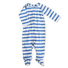 "Achat Pyjama Combinaison Zippée Manches Longues ""Ultramarine Blazer Strip"""