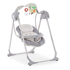 Achat Transat Balancelle Polly Swing Up - Silver