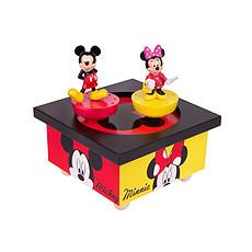 Achat Boite Manège Musical Bois Mickey & Minnie