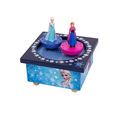 Achat Boite Manège Musical Bois Elsa & Anna Reine des Neiges