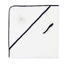 Achat Linge & Sortie de bain Sortie de Bain Ange Lapin 75x80 cm + Gant - Marine