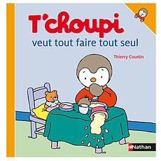Achat Livre & Carte T'choupi Veut Tout Faire Tout Seul