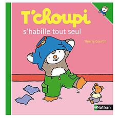 Achat Livre & Carte T'choupi S'Habille Tout Seul