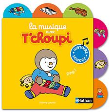 Achat Livre & Carte La Musique avec T'choupi