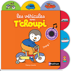Achat Livre & Carte Les Véhicules avec T'choupi