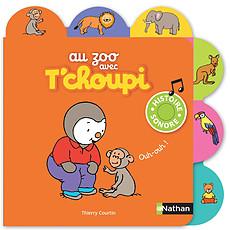 Achat Livre d'éveil Au Zoo avec T'choupi