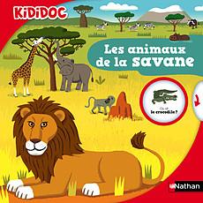Achat Livre & Carte Les Animaux de la Savane