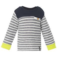 Achat Hauts bébé Tee-shirt Manches Longues Marine TY STRIPE - 1 mois