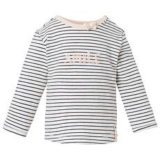 Achat Hauts bébé Tee-Shirt Manches Longues Violet Rayé LYN - 3 mois