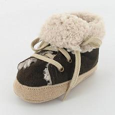 Achat Chaussons & Chaussures Baskets Fourrées Diouf 0/3 mois - Marron