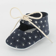 Achat OUTLET Chaussons avec Strass Diane - Marine