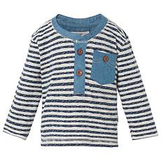 Achat Hauts bébé Tee-Shirt Manches Longues Marine ZAC - 6 mois
