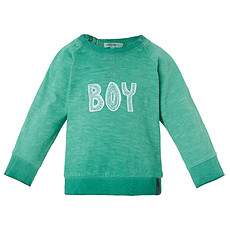 Achat Hauts bébé Tee-shirt Manches Longues Menthe Boy ZAC - 1 Mois