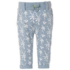 Achat Bas Bébé Pantalon en Jersey Motif Palmiers Gris Lavande MYA - 3 mois