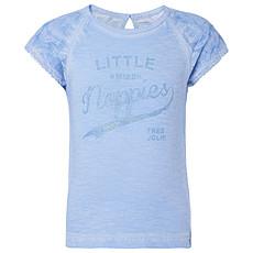 Achat Hauts bébé Tee-shirt Manches Courtes Flammé Lavande PIPA - 36 mois