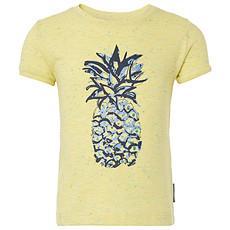Achat Hauts bébé Tee-shirt Manches Courtes Ananas Jaune Clair PIPA - 36 mois