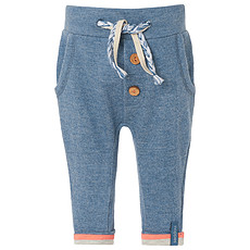 Achat Bas bébé Pantalon Sweat Bleu Chiné TOM