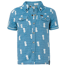 Achat OUTLET Chemise Manches Courtes Ananas Marine ROB