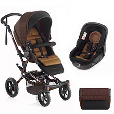 "Achat Poussette combinée Poussette Duo Crosswalk + Matrix Light 2 - ""brown"""