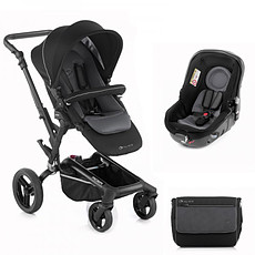 "Achat Poussette combinée Poussette duo Rider réversible + Matrix Light 2 - ""black"""