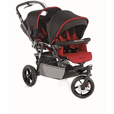 Achat Poussette multiple Poussette Double Powertwin Pro - Red